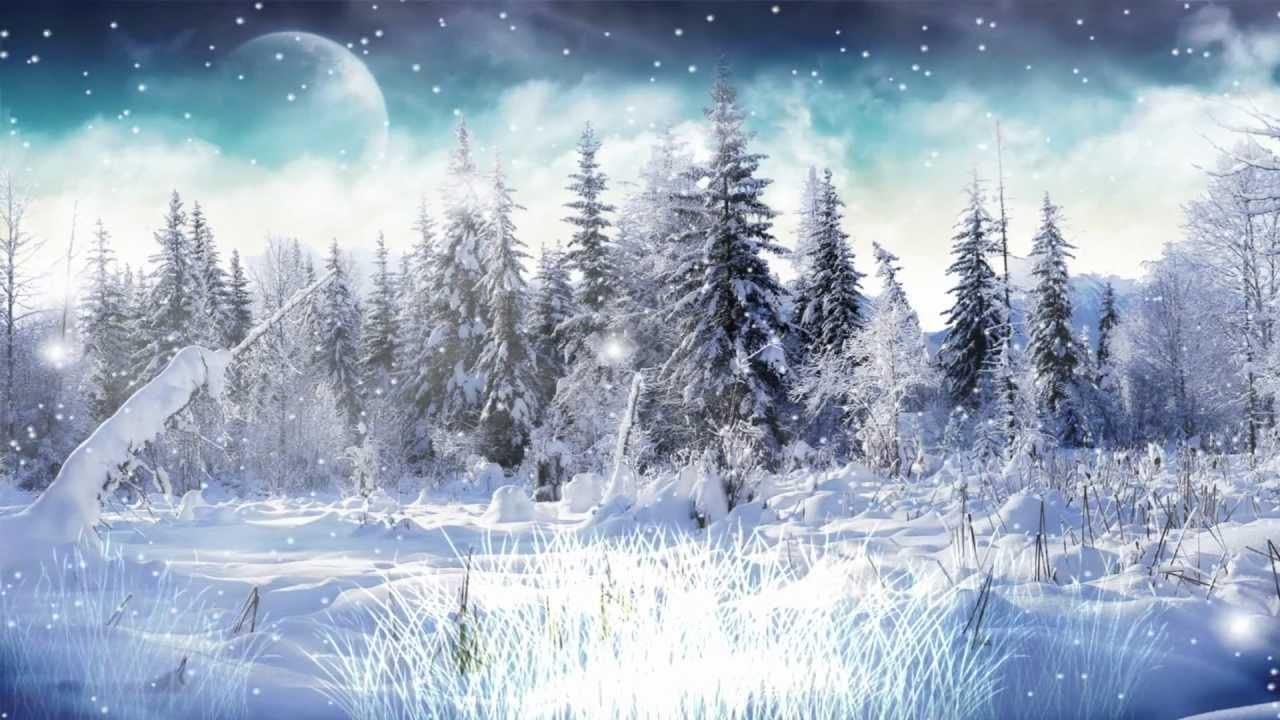 Free Desktop Wallpaper Falling Snow Winter Snow Screensaver Http Www Screensavergift Com