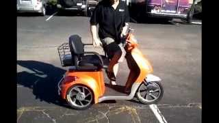 EW-36 Electric Bike: a 3 Wheel High-Power Mobility Scooter