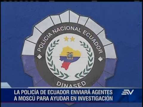 Interpol confirma que muerte ecuatoriano en Moscú está vinculada al narcotráfico