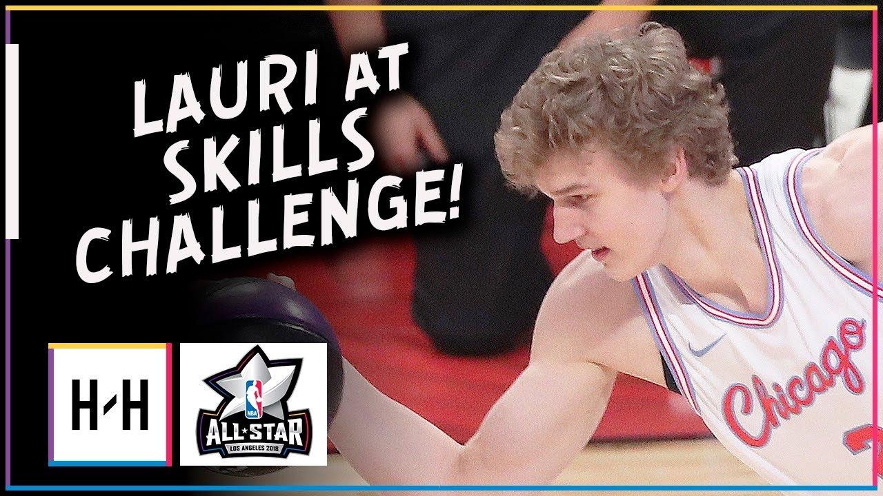 lauri-markkanen-full-highlights-at-2018-all-star-skills-challenge-feb-17-2018