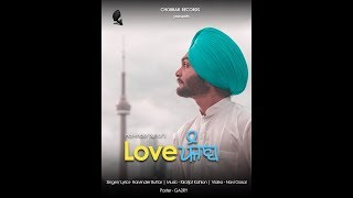 Love Punjab Harvinder Buttar Free MP3 Song Download 320 Kbps