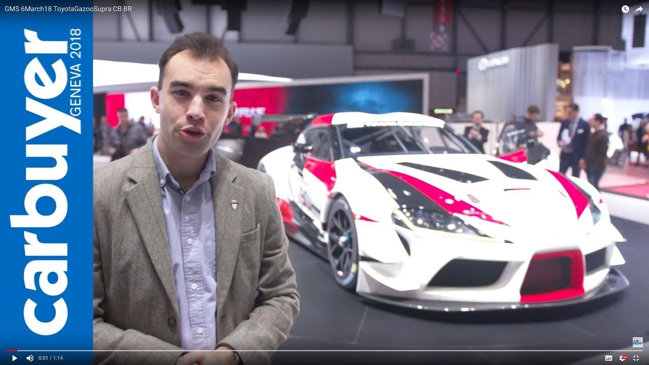2018 Toyota Supra racing concept walkaround and interior – Geneva Motor Show 2018 - Dauer: 75 Sekunden