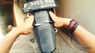 POTONG SPAKBOR BELAKANG OLD VIXION 5 MOTOVLOG VIXION 150 RAAHMANRIFKI