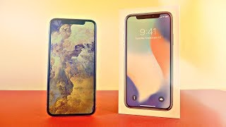 iPhone X 256GB Silver UNBOXING!!!