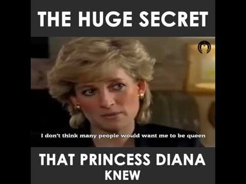 Princess Diana. This is why the queen killed her.