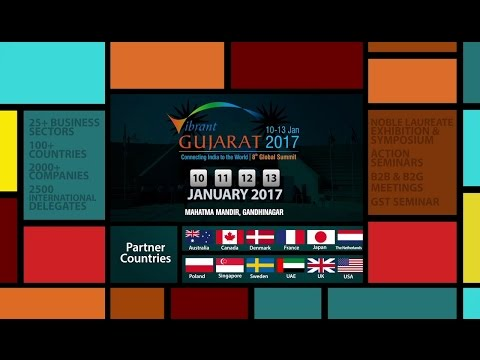 Vibrant Gujarat 2017 - Official TV Commercial (English)