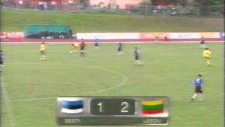 Estonia 1:5 Lithuania 2003
