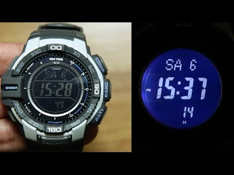 Casio Protrek PRG-270-7 UNBOXING * TRIPLE SENSOR + TOUGH SOLAR