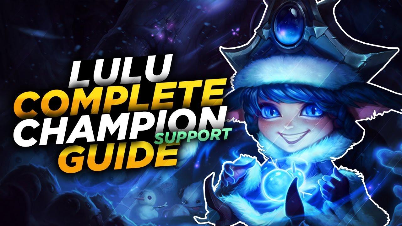 Lulu Support Runenbuild Botlane Comp mit Kog'Maw   Pre ...