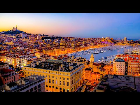 A Walk Around the Beautiful City Of Marseille, France