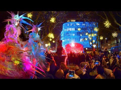 Chelsea Christmas Lights Switch-On 2019 ✨ Walking London at Night