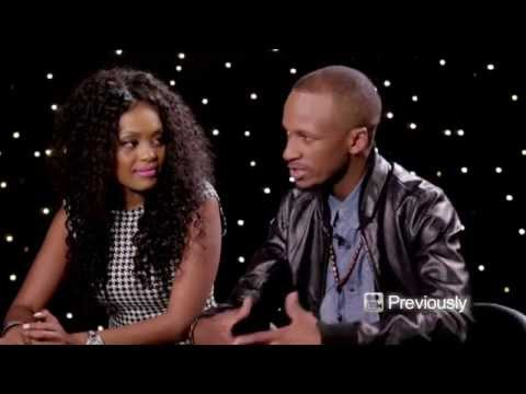 Previously on Screentime... Lerato Kganyago and Psyfo