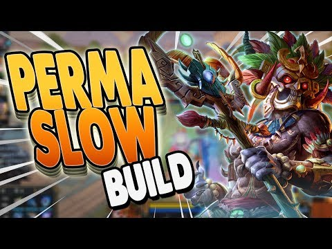 Smite: Ah Puch PERMA SLOW Build - I DID SO MUCH DAMAGE!