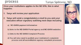 How to Apply to Become an Approved SARA Institution. Thumbnail
