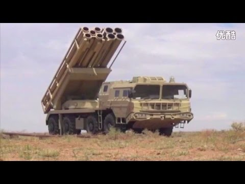 China SR 5 MLRS & PLZ-05 155mm Self-Propelled Howitzer Test Firing [480p]