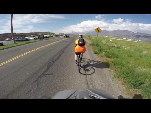 Flat and windy [] After work ride [] New roads!