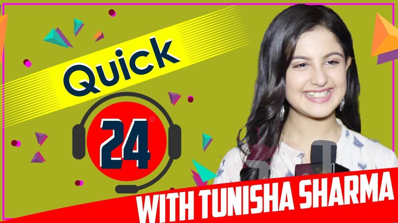 Download Quick 24 With Tunisha Sharma Aka Aadhya From Internet Wala Love | Fun Rapid Fire