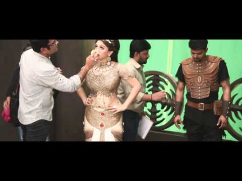 Puli - Making Video | Vijay, Sridevi, Sudeep, Shruti Haasan, Hansika Motwani thumbnail