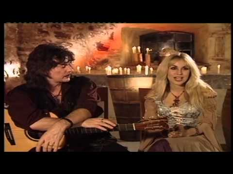 Ritchie Blackmore & Candice Night in discussion 2006