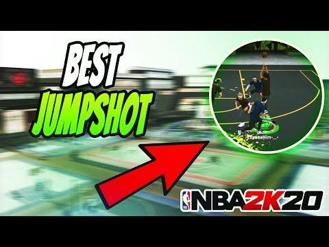 NBA 2K20 BEST JUMPSHOT FOR NO JUMPSHOT CREATOR! NEVER MISS AGAIN! GREEN EVERY SHOT!