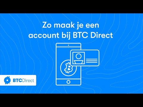 Bitcoin Kopen? Zo Maak Je Een Account Aan Bij BTC Direct