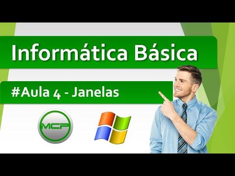 Curso Informática Básica - Aula 4 - Janelas (HD)