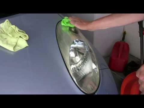 Car Headlamp Restoration Using Ajax