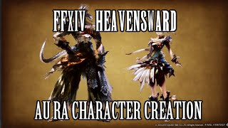 FFXIV Heavensward: Au Ra Character Creation Preview (New Race)