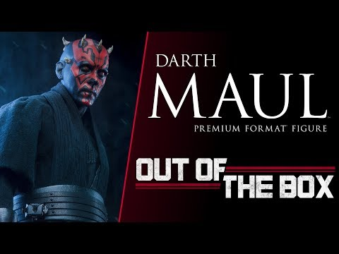 Out of the Box: Darth Maul Premium Format™ Figure