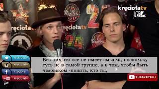 Интервью COUNTERFEIT. на PolandRock2018 (русские субтитры)