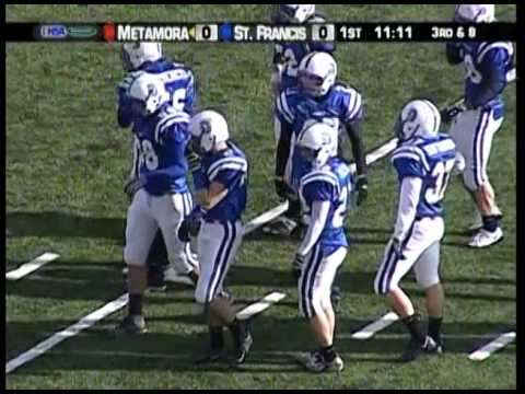2008 IHSA Boys Football Class 5A Championship Game: Wheaton (St. Francis) vs. Metamora