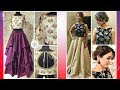 Latest Crop Top Dress Designs 2018
