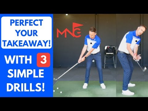 How To Perfect Your Takeaway With 3 Simple Drills – Golf Swing Tip