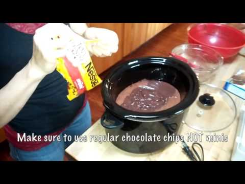 How To Make Chocolate Lava Cake In Crockpot/ Lava Cake In Slow Cooker