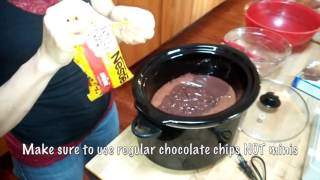 How to make Chocolate Lava Cake in a Crockpot/ Chocolate Lava Cake in Slow Cooker/ Economides Family