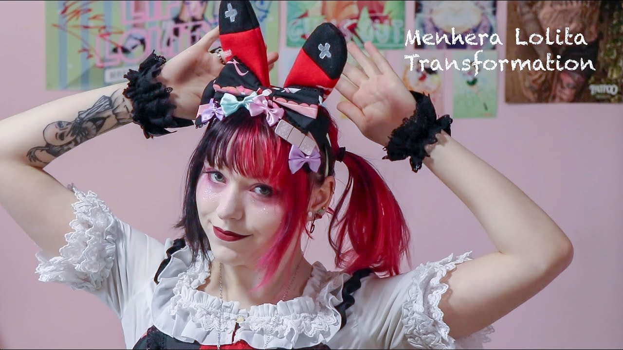 Menhera Lolita Transformation Youtube