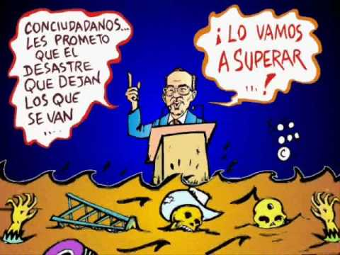 informe de gobierno felipe calderon caricatura politica de eduardo soto el  metiche - YouTube