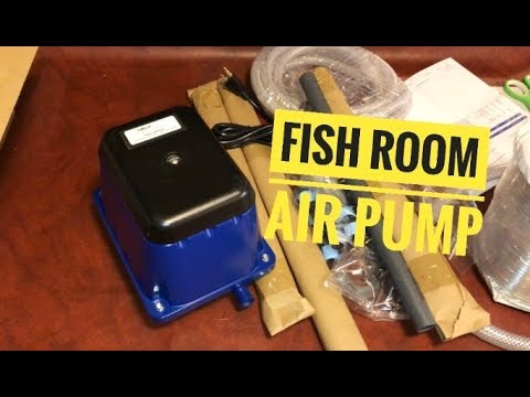 New Fish Room Air Pump: Jehmco Diaphram Air Pump