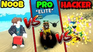 NOOB vs PRO vs HACKER | Treasure Hunt Simulator Version (Roblox)