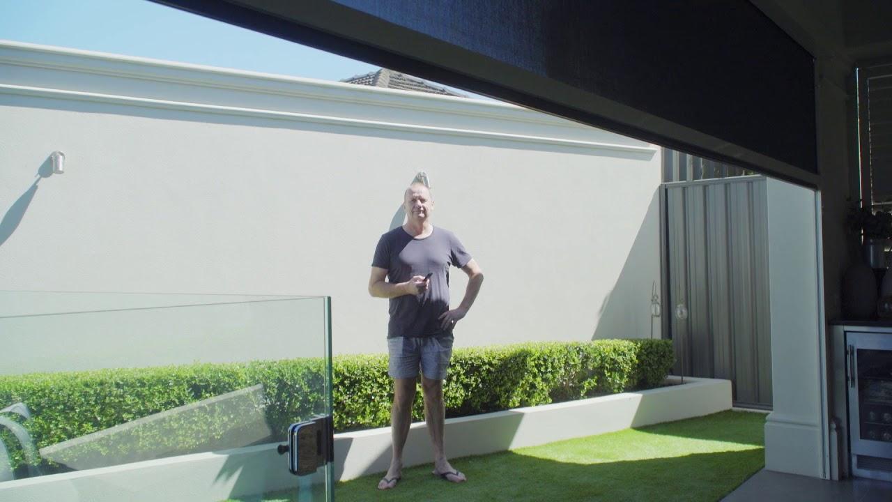 Motion Outdoor Blinds   Outdoor Blinds Review By Ken Hinkley   Australian  Outdoor Living