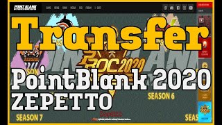 Transfer Point Blank Account Garena To Zepetto 2020 Youtube