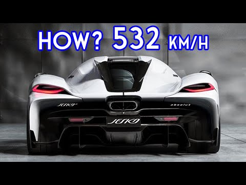FASTEST CAR IN THE WORLD – This is Why Koenigsegg Jesko Absolut can do 532km/h