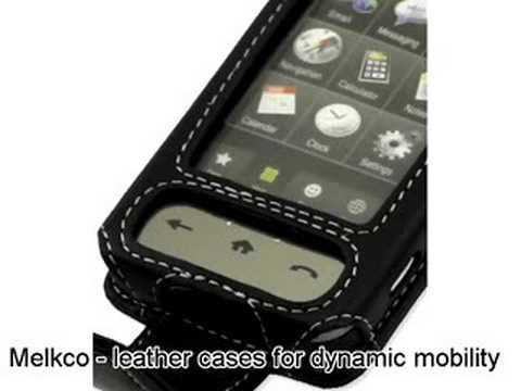 Melkco Tasche Leder Etui cuir ~Samsung SPH-M800 Sprint Instinct Flip Type