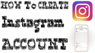 Comment Créer Instagram Compte. par Ak Technique