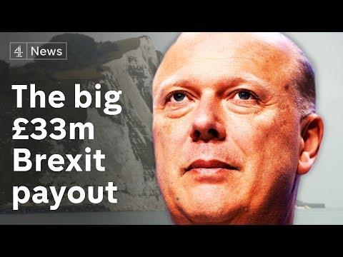 Brexit ferry fiasco forces £33m settlement