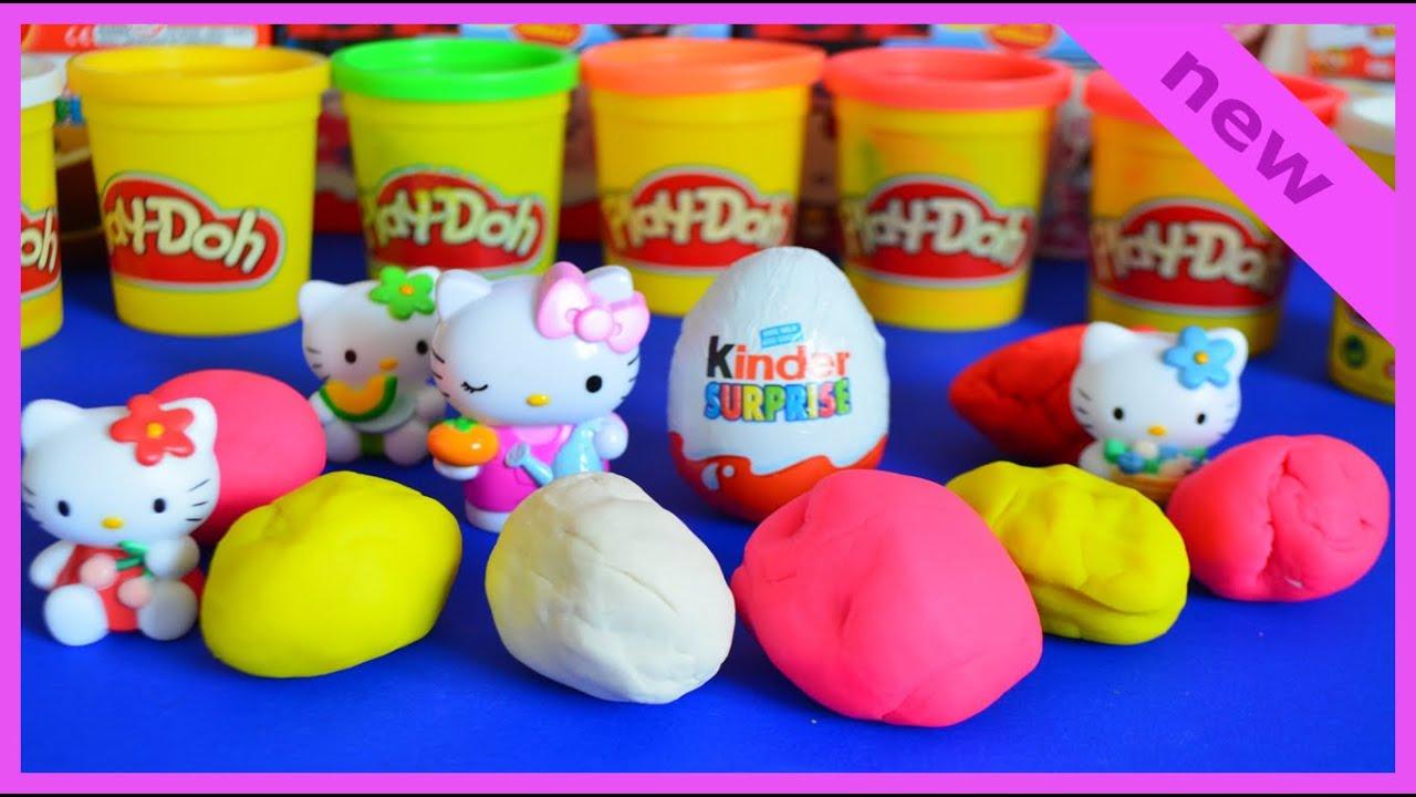 8 eggs kinder maxi minnie mouse hello disney pixar mickey mouse toys