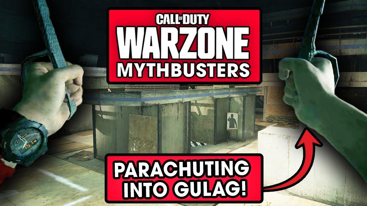 Warzone Mythbusters - Parachuting into the Gulag