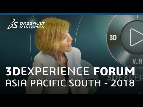 3DEXPERIENCE Forum Asia Pacific South 2018 - Interview with Prof Pascale Quester - Dassault Systèmes