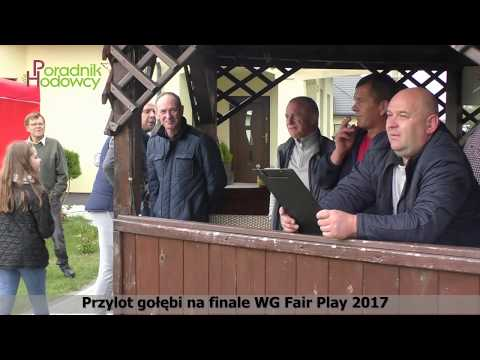 Przylot gołębi na finale WG Fair Play 2017