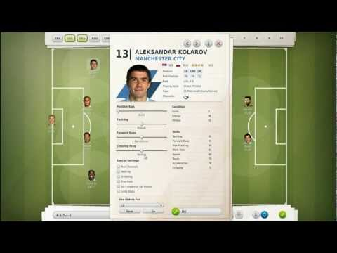 Let's Play FIFA Manager 12: Part 17 - Complex Tactics & Training W/Manchester City